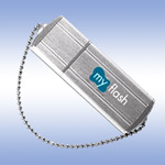 USB флеш-диск - A-Data PD4 Small Silver - 16Gb