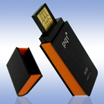 USB флеш-диск - PQI Traveling Disk i221 Black-Orange - 1Gb